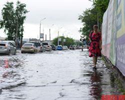 На АСН24 народная галерея последствий разгула стихии