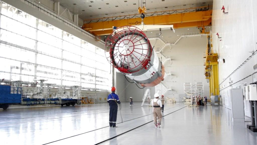 Вчера на космодроме Восточный в Амурской области началась подготовка «Союза-2.1б» к пуску